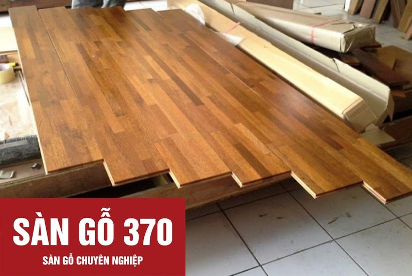 sàn gỗ tự nhiên căm xe ghép