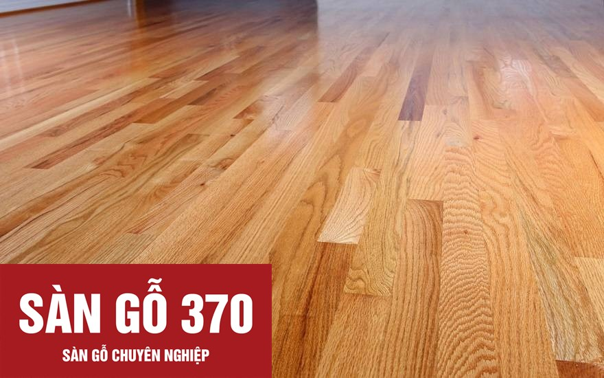 sàn gỗ sồi đỏ mỹ
