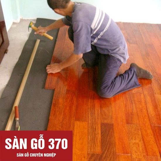 thi công sàn gỗ giáng hương