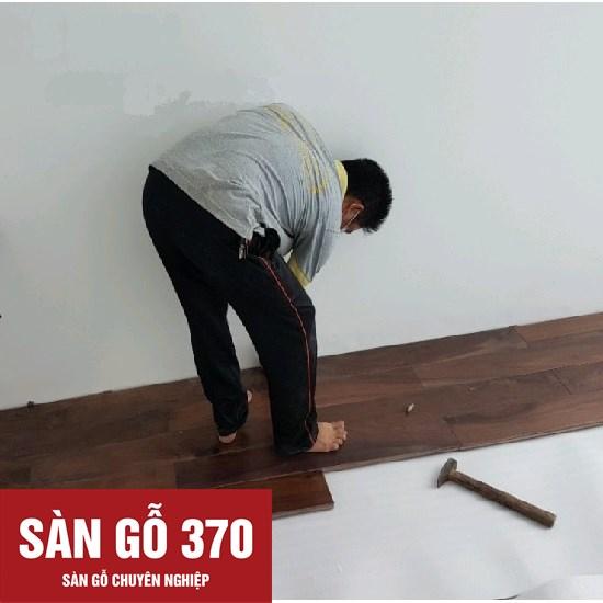 thi công lắp đặt sàn gỗ óc chó