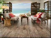 Sàn gỗ không chỉ dành cho nhà cao cấp