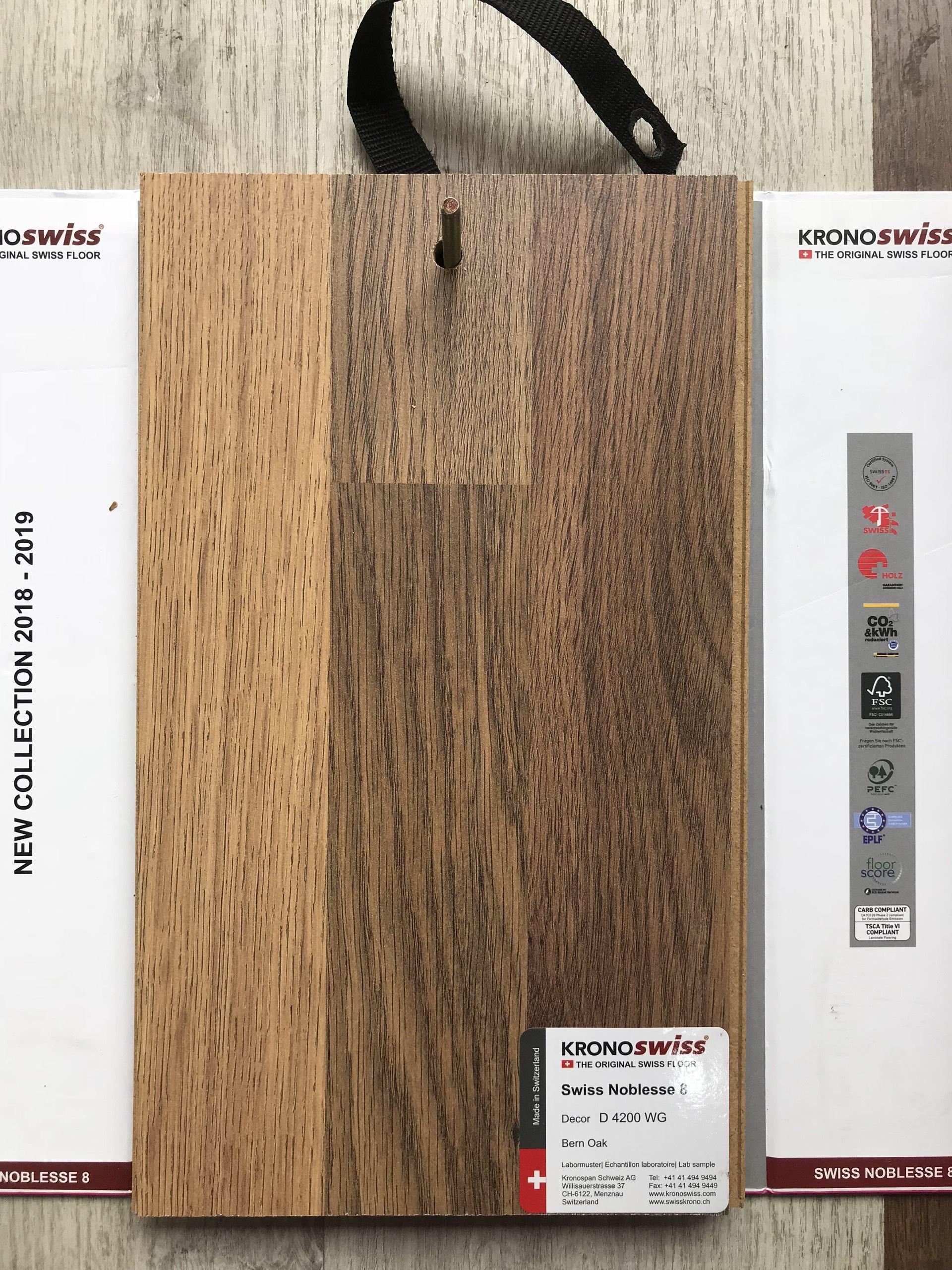 Sàn gỗ KronoSwiss D4200 WG